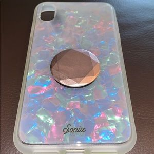 Sonix Pearl Tort iPhone XS Max Case